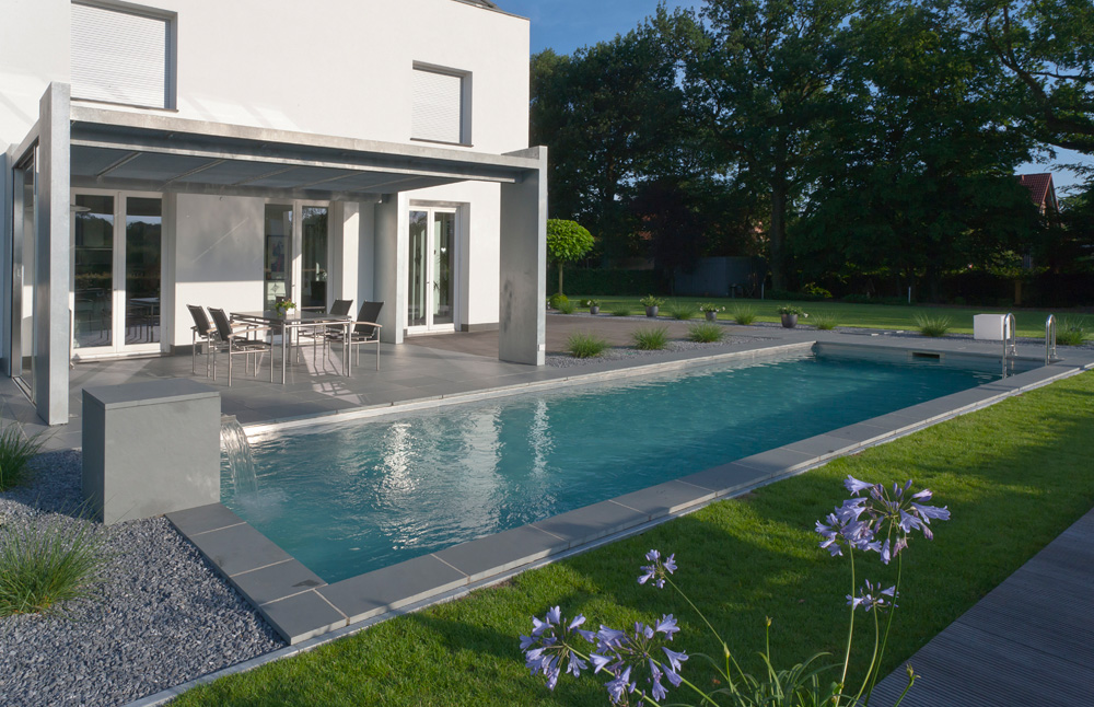Biotop schwimmteiche und natur pools for Gartengestaltung mit pool